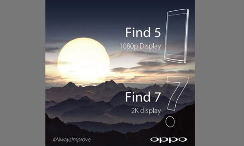 Oppo Find 7 Teased Again Confirming 2K Display