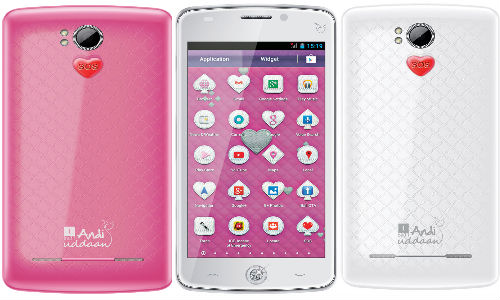 iBall Andi Uddaan Smartphone with Safety Features for Women Launched