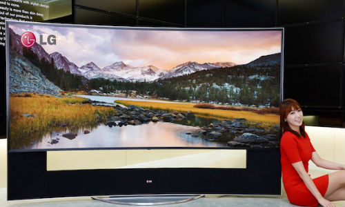 LG 105-inch Curved UHD TV  To Get Unveiled at CES 2014