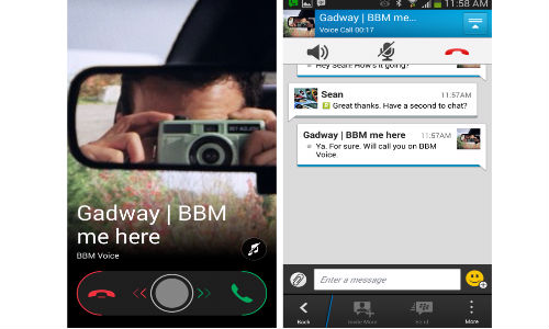 BlackBerry BBM Voice and Video Calling To Arrive on Android, iOS Soon
