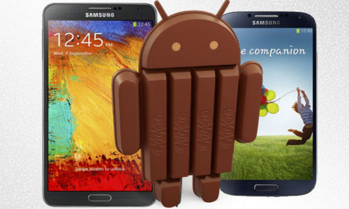 Kitkat To Arrive on Samsung Galaxy S4 and Note3