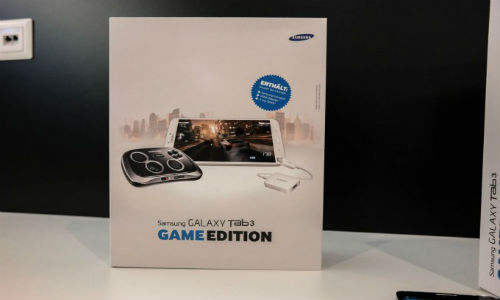 Samsung Galaxy Tab 3 Game Edition Bundle includes GamePad Controller