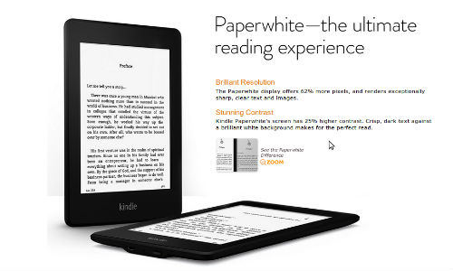 Amazon Offers Special Discounts on Kindle Range this Christmas