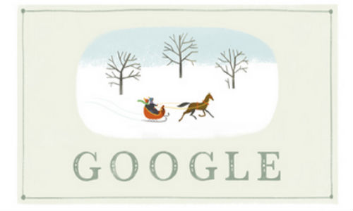 Google Wishes Happy Holidays To Users Via Today's Doodle