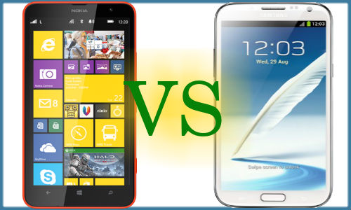 Nokia Lumia 1320 vs Samsung Galaxy Note 2: What's Your Choice?