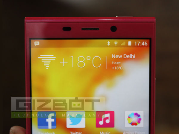 Gionee Elife E7 Hands On Review: First Look