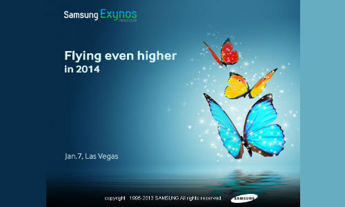 Samsung Exynos to Announce Its Latest True Octa-Core SoC at CES 2014