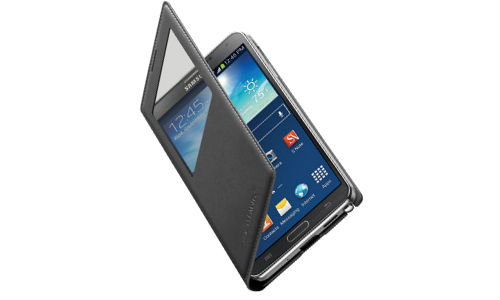 Samsung Galaxy Note 3 S-View Flip Cover Features Wireless Charging