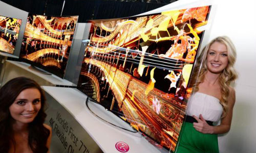 LG Announces Curved, 4K UHD, Flexible OLED TVs and webOS