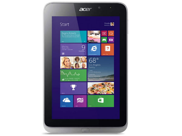 Acer Announces Iconia W4, A1-830 and B1-720 Tablets At CES 2014