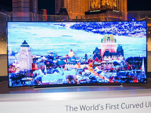 Samsung 105-inch Bendable Ultra HD TV