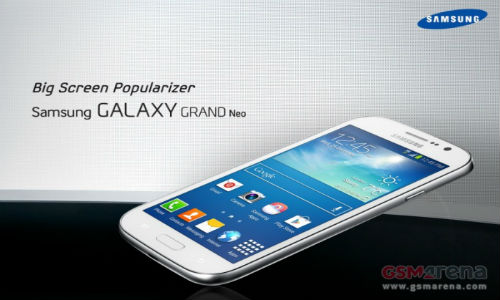 Samsung Galaxy Grand Neo: 5 Inch  Smartphone Leaked Ahead of Launch