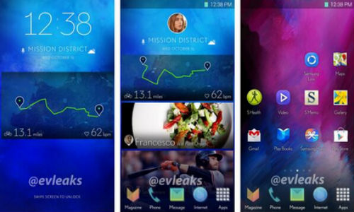 Samsung New UI for Galaxy S5 Leaks Online