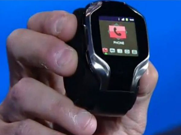 Intel prototype smartwatch