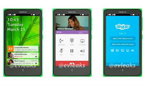 Nokia Normandy Dual-SIM Android Phone Leaks Again Showing UI