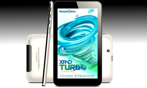 Simmtronics Xpad Turbo: 7 Inch Dual SIM Voice Calling Tablet Launched