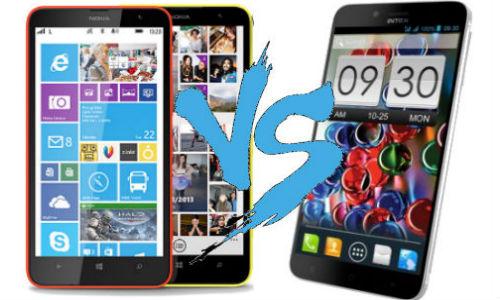 Nokia Lumia 1320 vs Intex Aqua Octa: Is It Time For A ...