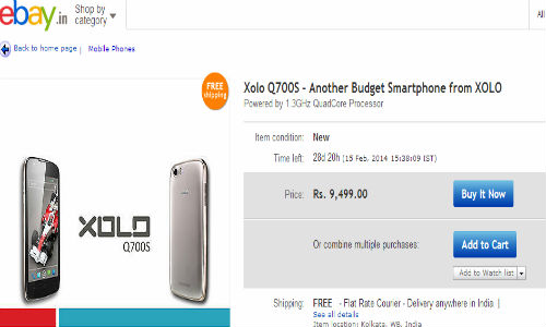 Xolo Q700S: 4.5 Inch Quad Core Smartphone Emerges Online At Rs 9,499