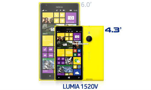 Nokia Lumia 1520 Mini Reportedly In Works, Tipped for April 2014 Relea