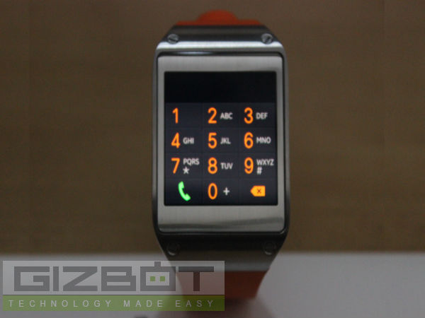Samsung Galaxy Gear Hands on Review: Designed for High Performance