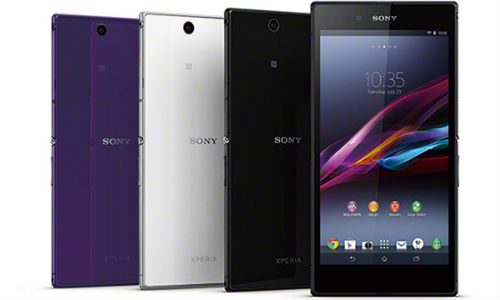 Sony Xperia Z Ultra WiFi Only Variant Goes Official