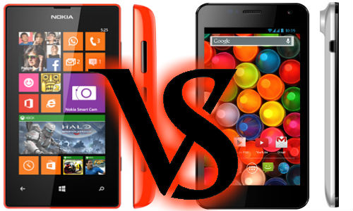 Nokia Lumia 525 Vs Karbonn Titanium S4: Upper-hand Up for Grabs