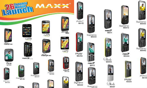 Maxx Mobile Unveils 26 New Feature and Android Budget Smartphones