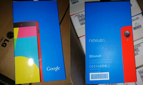 Red Nexus 5 Image Leaked With Retail Boxes