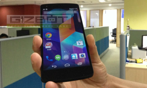 LG Google Nexus 5 With Android KitKat: Top 5 Hidden Features