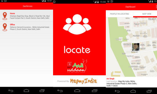 MapmyIndia Locate App Now Supports Safety Feature in iBall Andi Udaan