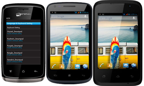 Micromax Bolt A24, Bolt A37B and Bolt A46 Now Available Online