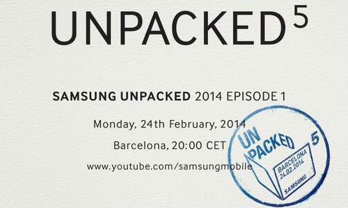 Samsung Galaxy S5 Could Be Announced In February 24, 2014