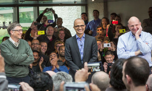 Satya Nadella Sends His First Email To Employees As Microsoft's CEO