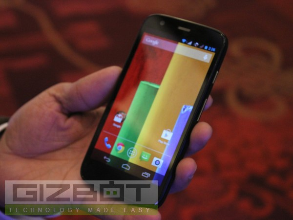 Motorola Moto G Hands-on And First Look
