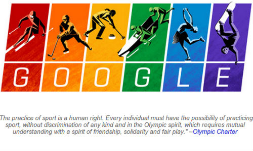 Latest Google Doodle Tribute Highlights Winter Olympics 2014