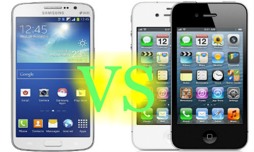 Samsung Galaxy Grand 2 Vs Apple iPhone 4 (8GB): Who Scores the Kill?