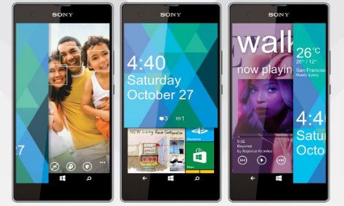 Sony Vaio F1 Smartphone Running Windows Phone 9 Concept Design