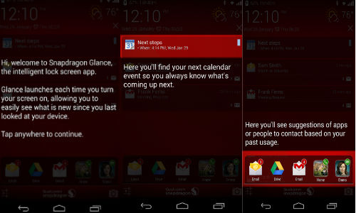 Snapdragon Glance Beta App For Android Launched