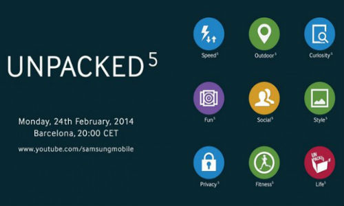 Samsung Galaxy S5 New Teaser Flaunts TouchWiz Icons
