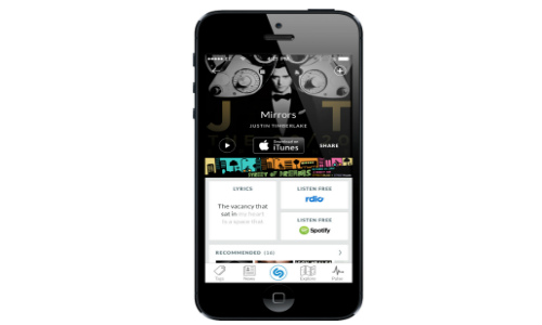 Shazam for iPhone Redesigned: Becomes More Faster and Responsive