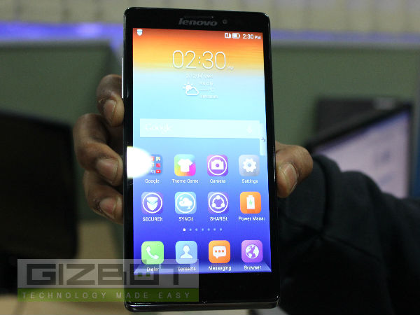 Lenovo Vibe Z K910 Hands On: First Look