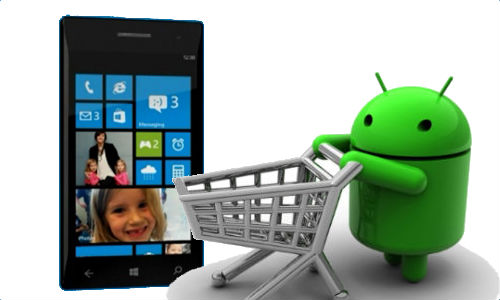 Microsoft Might Allow Android Apps on Windows Phone and Windows Store