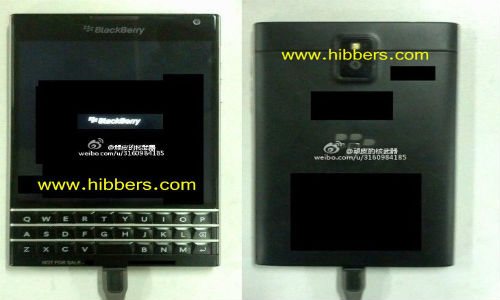 "BlackBerry ""Windermere"" Could Sport Touch Enabled QWERTY Keypad"