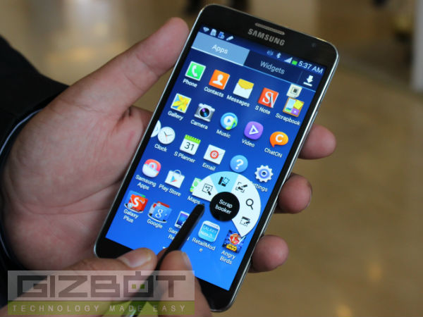 Samsung Galaxy Note 3 Neo Hands on and First Look