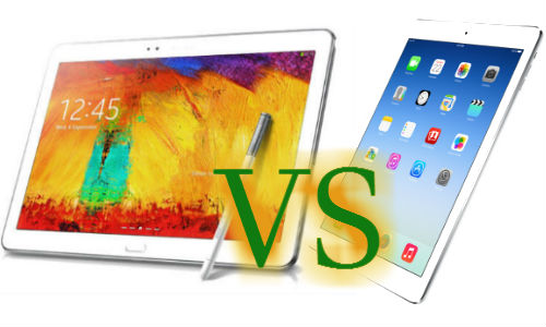 Samsung Galaxy Note Pro 12.2 Vs Apple iPad Air: A Quick Comparison