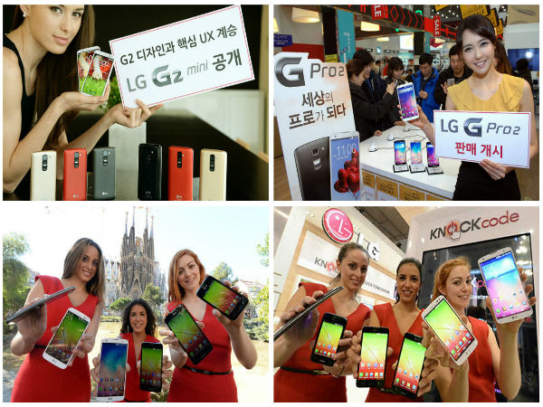 MWC 2014: LG Showcases G Pro 2, G2 mini And L Series III Budget Phones