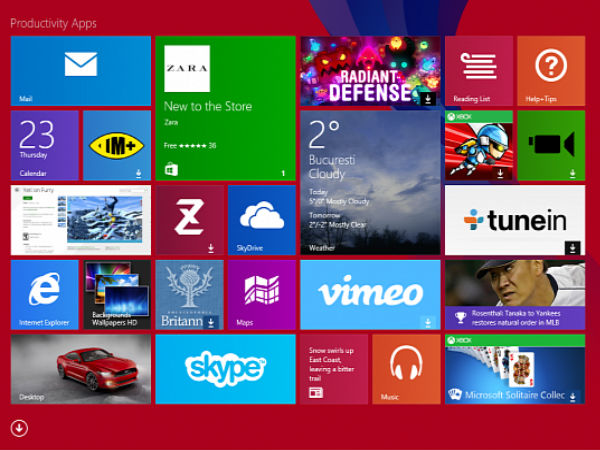 Microsoft at MWC 2014: Windows 8.1 to Receive First Important Update