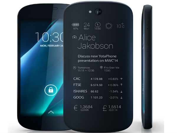 YotaPhone 2 Featuring Dual Screen Announced at MWC 2014
