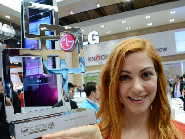 LG Named Most Innovative Company At MWC 2014