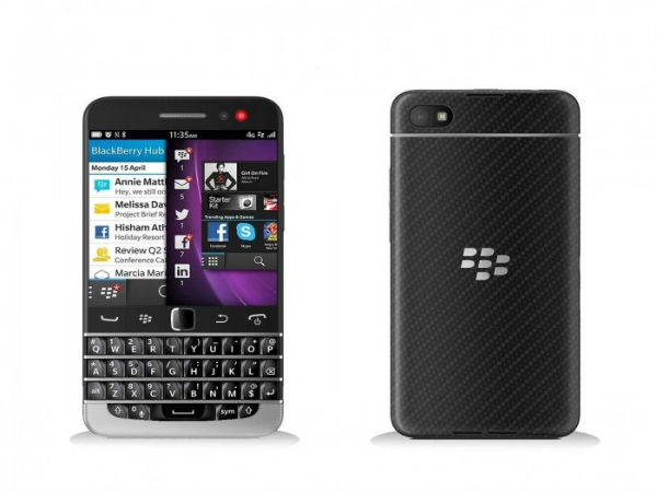 BlackBerry Q20 Press Shot Leaks: Flaunts the Classic QWERTY Keyboard